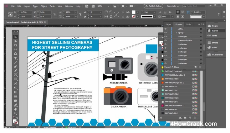 Adobe InDesign CC Patched Free Download